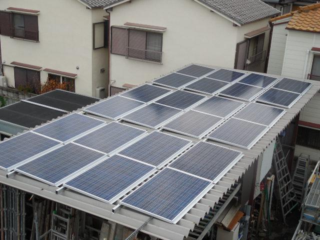 多結晶シリコン 太陽電池モジュール SR156P-240 6インチ (156mm×156mm 60セル 1枚)