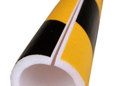 単管カバー トラ模様 送料無料!(8mm厚×48.5φ内径×1m 60本/セット)