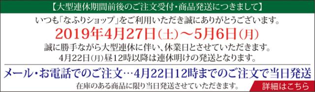 2019_GW休業のお知らせ