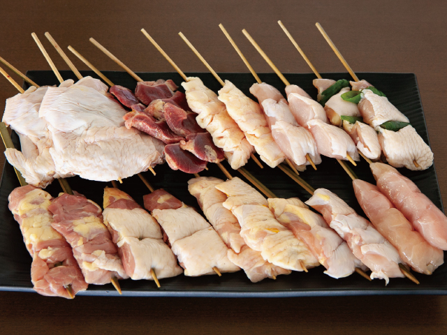 安曇野 寿地鶏 焼き鳥