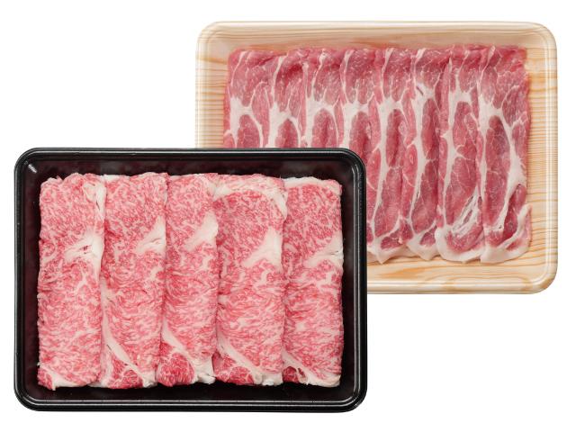 吉清 プレ牛&オレイン豚しゃぶすき