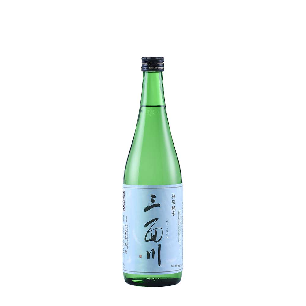 日本酒 特別純米 三面川 720ml
