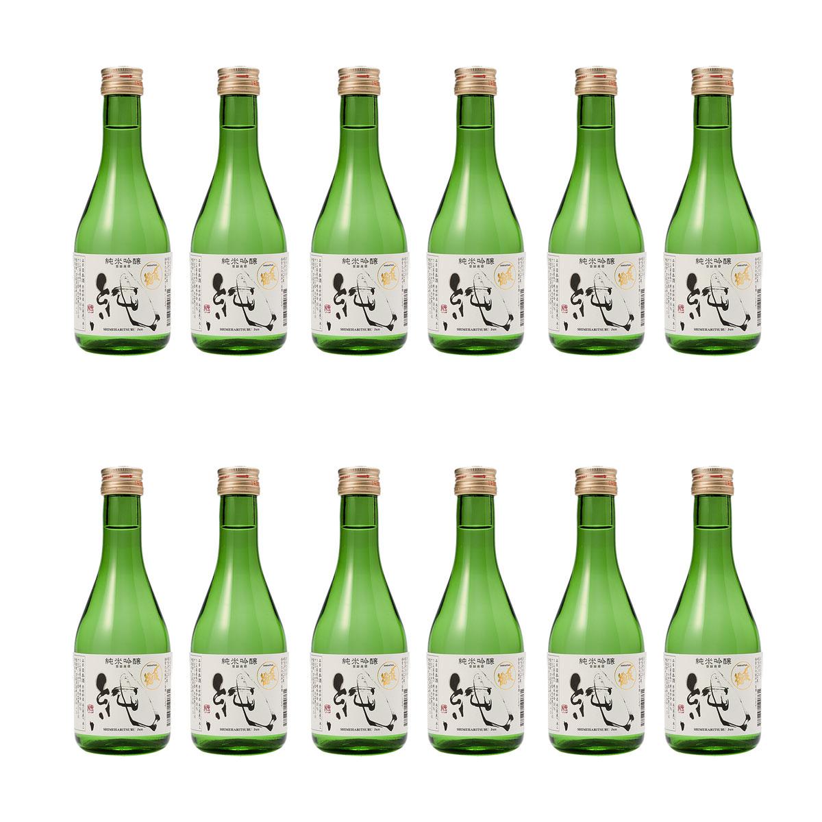 日本酒 宮尾酒造 純米吟醸 〆張鶴 純 300ml × 12本