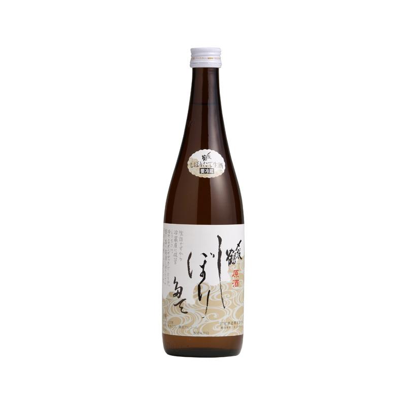 日本酒:〆張鶴 しぼりたて原酒