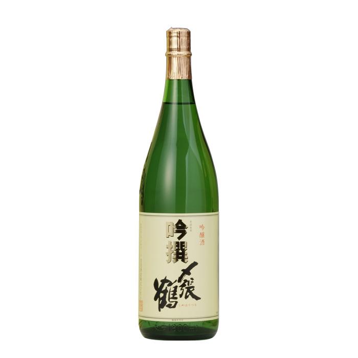宮尾酒造 〆張鶴 吟撰 1.8L