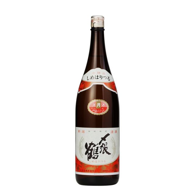 日本酒 宮尾酒造 〆張鶴 月 1.8L