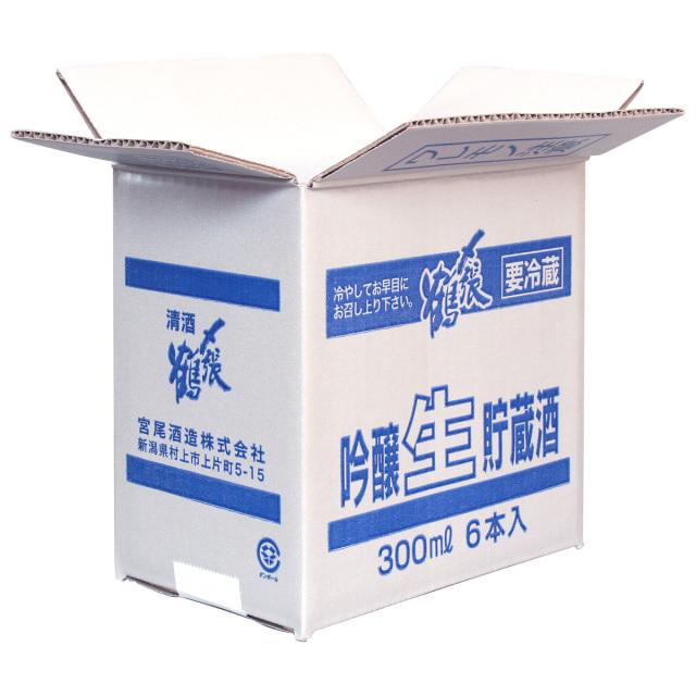 〆張鶴 吟醸生貯蔵酒300ml 6本入箱