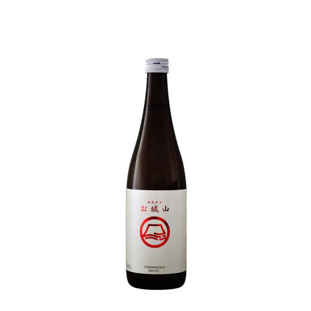 日本酒 宮尾酒造 お城山 本醸造 生原酒 720ml