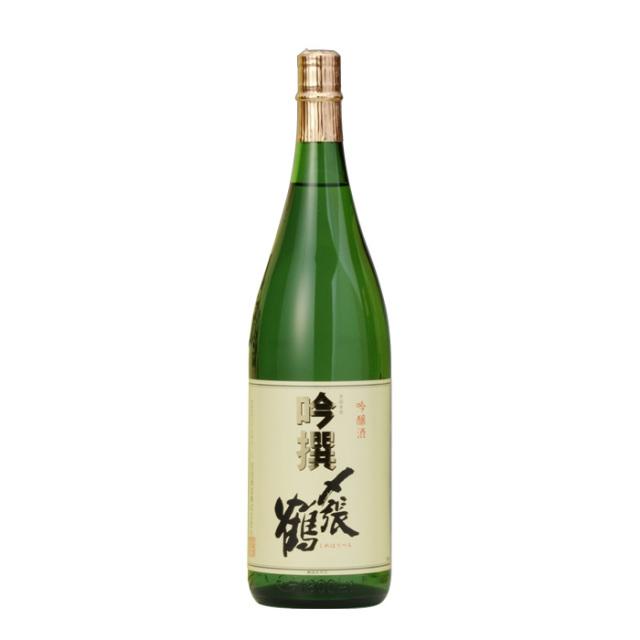 日本酒:宮尾酒造 〆張鶴 吟撰 1.8L