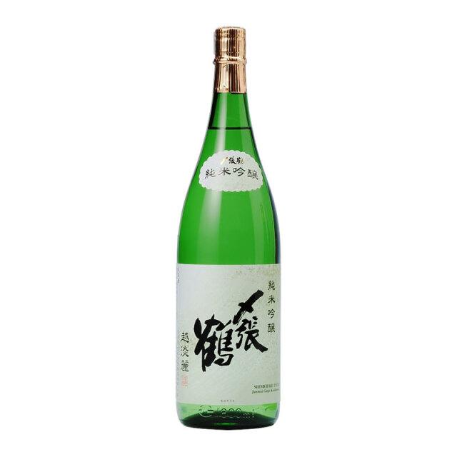 〆張鶴 純米吟醸 越淡麗 1.8L