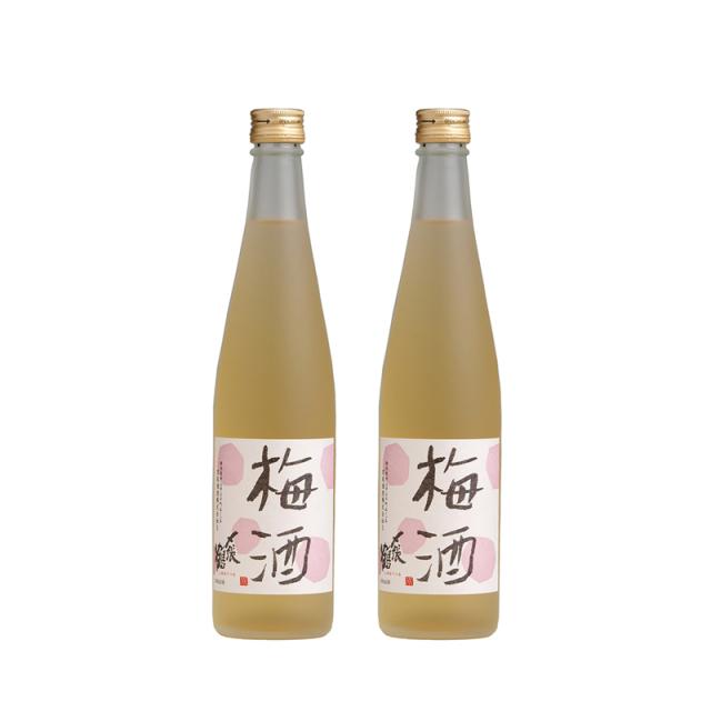 宮尾酒造 〆張鶴 梅酒 500ml × 2本