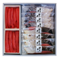 鮭寒風干し・たらこセット 【N-13】 鮭寒風干し1切×4/メジカ鮭寒風干し1切×4/たらこ200g×2