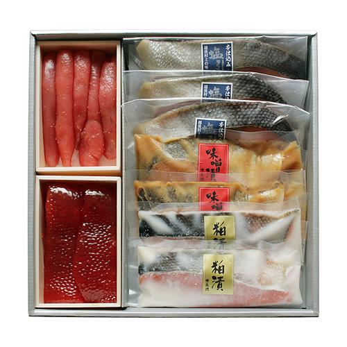塩引鮭・魚漬魚卵詰合せ