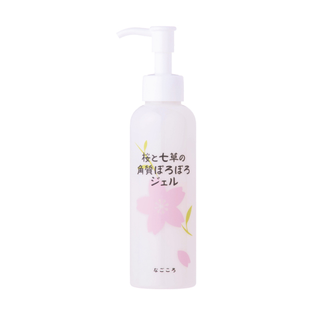桜と七草の角質ぽろぽろジェル