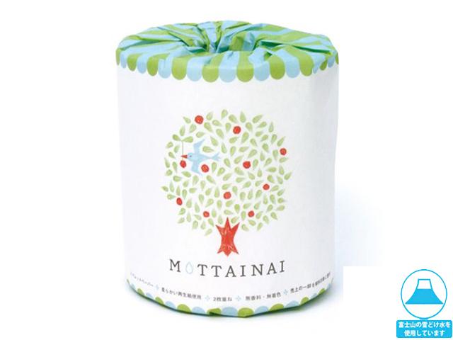 林製紙トイレットペーパー MOTTAINAI