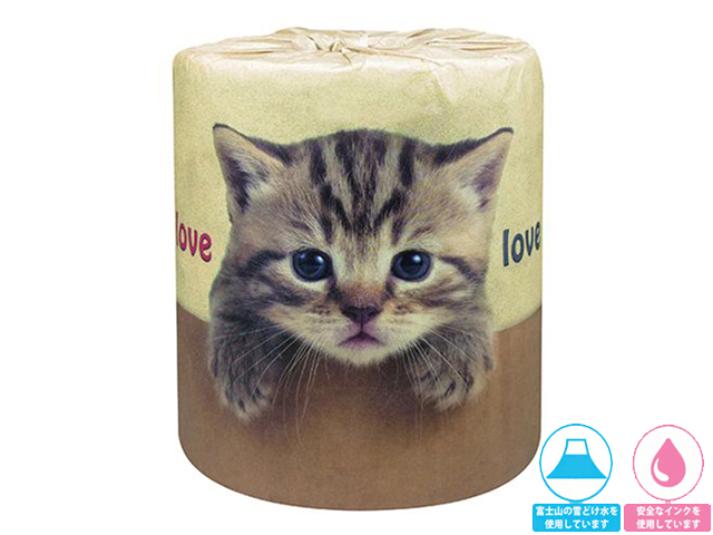 林製紙トイレットペーパー やっぱり猫が好き