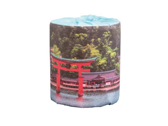 販促用トイレットペーパー 日本の世界遺産 厳島神社 個包装50個 ダブル30m