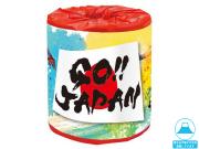 販促用 贈答用 イベント用 トイレットペーパー GO!JAPAN 30mダブル 個包装100個