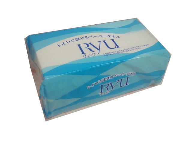 水に流せるペーパータオル 大高製紙Ryu 消耗品なごみ