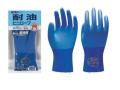 消耗品なごみ 作業用耐油ビニール手袋 耐油ビニローブNo.650