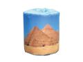 販促用トイレットペーパー 世界遺産 ピラミッド 個包装100個 ダブル30m