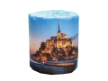 販促用トイレットペーパー 世界遺産 モンサンミッシェル 個包装100個 ダブル30m