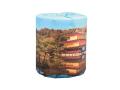 販促用トイレットペーパー 日本の世界遺産 金閣寺 個包装100個 ダブル30m
