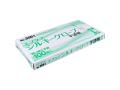 使い捨てポリ手袋 エブノ No.3061 エブケアシルキーグローブ 半透明 Lサイズ 100枚入りX10箱