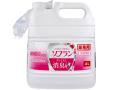 柔軟仕上げ剤 ライオン 業務用ソフラン プレミアム消臭柔軟剤 フローラルアロマの香り 4L