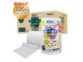 トイレットペーパー 丸富製紙 ペンギン芯なし 超ロング300m 再生紙 シングル 無包装24個