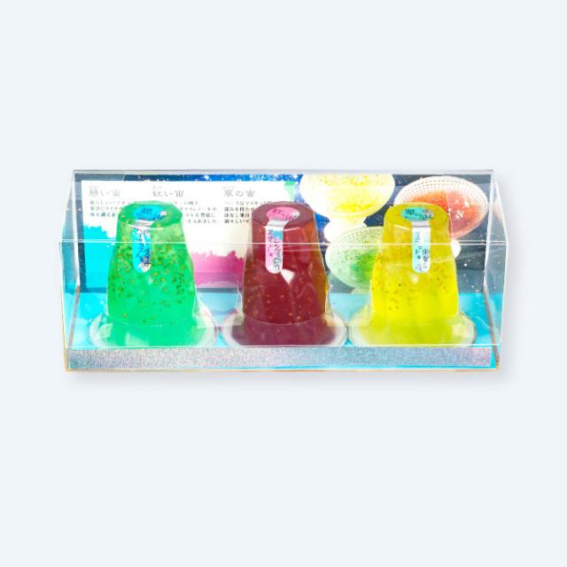ゼリー/涼菓 碧い宙 3個入り