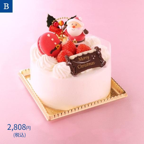 名古屋ふらんすのクリスマスケーキ B.クリスマスショートケーキ4号