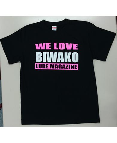WE LOVE BIWAKO Tシャツ・ブラック