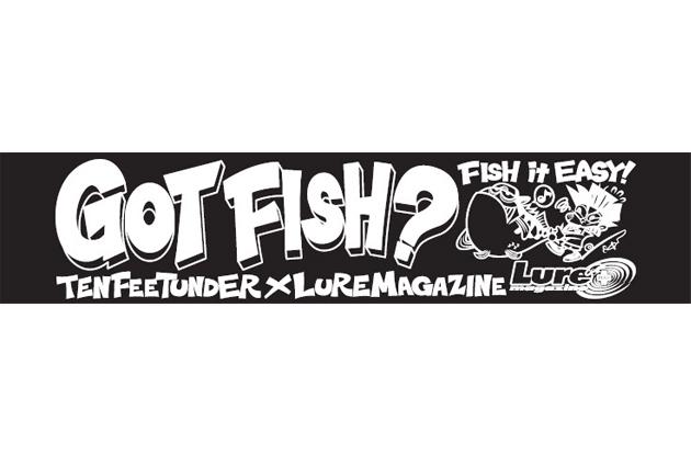 「FISH it EASY!」マフラータオル/ブラック