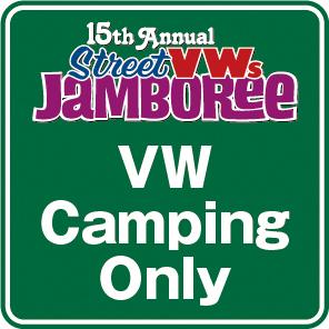 【VWSジャンボリー2021】VW Camping Only