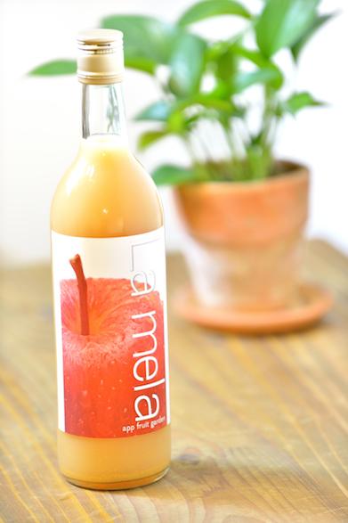 niccori商品番号24[あっぷりんご園]あっぷりんご園 ストレートピュア りんごジュースワイン瓶3本化粧箱入り/APR006