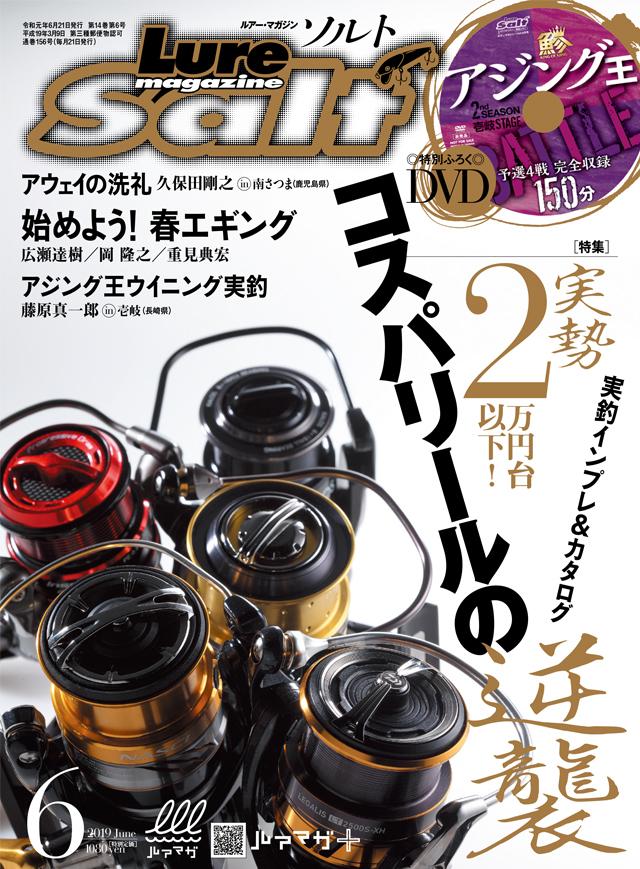 ルアーマガジン・ソルト 2019年6月号(4/20発売)