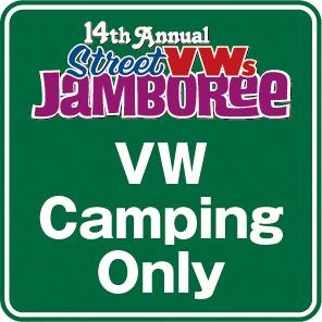 【VWSジャンボリー2020】VW Camping Only