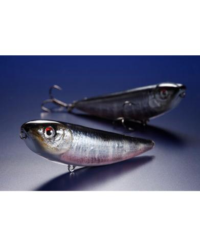 サミー85 剥製魚銀皮カスタム・オイカワ (ラッキークラフトU.S.A.)