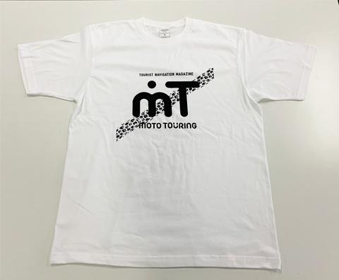 モトツーリング オリジナルTシャツ夏ver(酷道タイヤ跡)