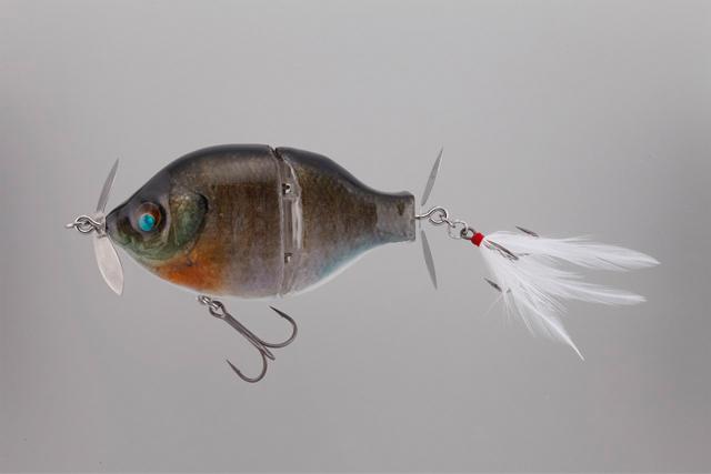 ブッチギル剥製魚銀皮カスタム・ブルーギル(再販)
