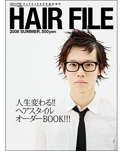 HAIR FILE '08 SUMMER