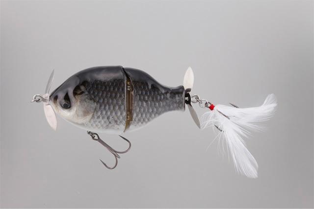 ブッチギル剥製魚銀皮カスタム・フナ(再販)