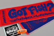 FISH it EASY! マフラータオルセット レッド(一般)