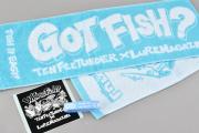 FISH it EASY! マフラータオルセット ライトブルー(一般)