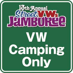 カーショー特別枠(VW Camping Only)エントリー