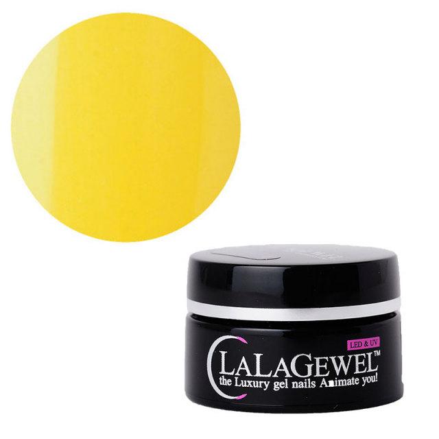 【LALAGEWEL<ララジェル>】 カラージェル 黄色4g