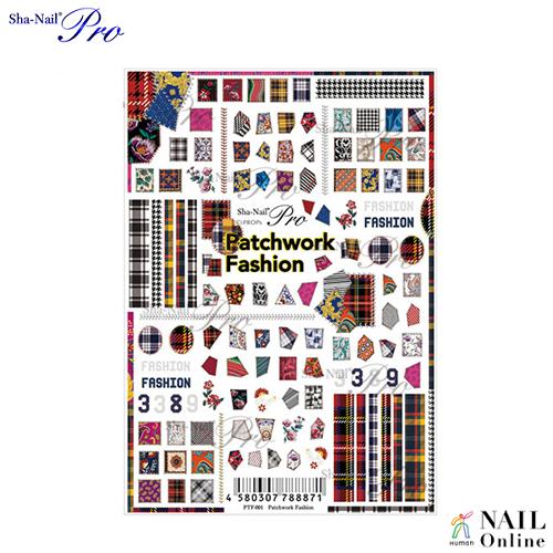 【写ネイルPro】 パッチワークファッション