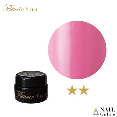 【Fleurir Gel】 <マット> 4ml カラージェル 002 ピンク ★★ 【検定おすすめ】