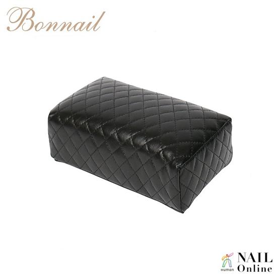 【Bonnail】 キルティング柄アームレスト ミニ  ブラック